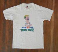 Vtg 80s SEATTLE SEAHAWKS Football Team BRIAN BOSWORTH T-SHIRT The Boz Sz LARGE