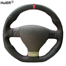 For Volkswagen Golf 5 Mk5 GTI Golf 5 R32 Hand Sewing Car Steering Wheel Cover