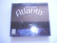 Beyond Atlantis 2000 Jewel Case PC Game DreamCatcher for Windows 98/95 4 Discs