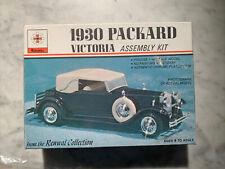 Vintage Renwal 1/48 Scale-1930 Packard Victoria Model Kit No. 152 Complete