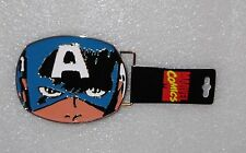 Marvel Comics Captain America Enamel Metal Belt Buckle
