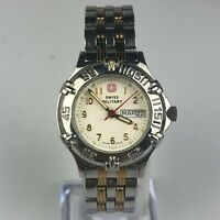 Swiss Military Womens The Genuine 79096 Two Toned Stainless Steel Watch