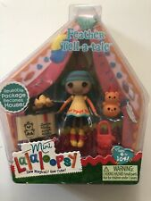 NEW! Lalaloopsy Feather Tell-A-Tale Mini Doll with Pet Bear Totem Accessories