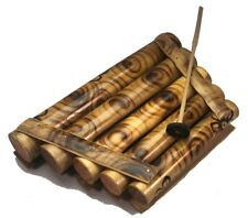 More details for traditional wooden oriental indonesian balinese musical instrument xylophone l
