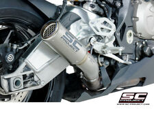 SC Project Exhaust BMW S1000RR CR-T Silencer Full Titanium Link Pipe 2015-201...