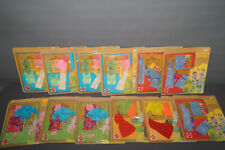 Mattel Sunshine Family Vestido Up Kits De Ropa Equipamiento Set 7268 7267 7265