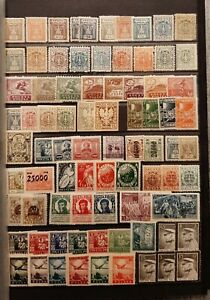 POLAND (2680) Nice Small Old Collection  (MH/MNH)