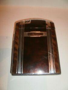 Vintage ART DECO RONSON Twenty Case Lighter & Cigarette Case~Tortoise Shell~1933