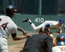 "Nolan Ryan & Hank Aaron- 8"" x 10"" Photo- 1968 Mets- Braves Baseball"