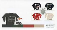 Guernsey 2017 FDC Guernsey Jumper SEPAC Handicrafts 4v Set Cover Crafts Stamps