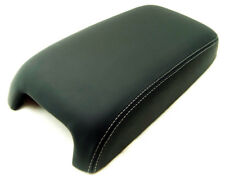 Armrest Ctr Console Cover Synthetic Leather For 11-18 Chrysler 300 w/Gray Stitch