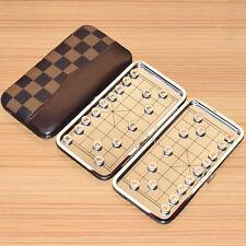 Chinois échecs,Xiangqi, Pliable magnétique métal pièces Portable Voyage toy