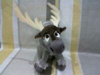 """Sparkle Sven Reindeer From Frozen 8"""" Plush Soft Toy By Ty  Disney NEW"""