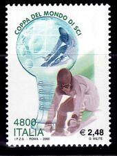 ITALIA DEPORTES 2000 2409 COPA DEL MUNDO DE SKY 1v.
