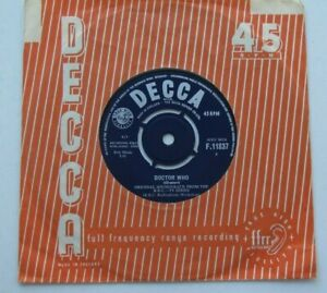 """B.B.C. Radiophonic Workshop – Doctor Who / This Can't Be Love 1964 UK 7"""" EX/NM"""