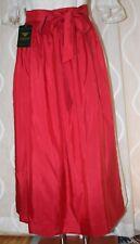 NEU* 90cm lange Taft Dirndl Schürze glänzend  rot H.MOSER  Mode aus Salzburg