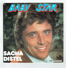 45 RPM - Sacha Distel - Baby Star Moviestar Carrere 49219 F