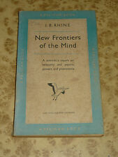 New Frontiers of the Mind by J Rhine 1950 Vintage Pelican Book 50s Mid Century