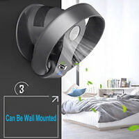 220V Wall-Mounted Air Conditioning Fan Bladeless Cooling Fan Remote Control