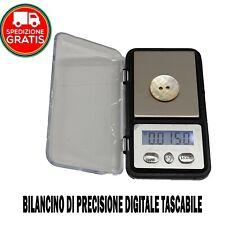 BILANCINO DI PRECISIONE 0,01 g 200 g MINI BILANCIA PESA MILLIGRAMMI CARATI ORO
