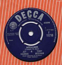 JET HARRIS & TONY MEEHAN applejack*the tall texan 1963 UK DECCA 45