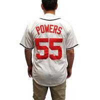 Kenny Powers 55 Atlanta Baseball Jersey Eastbound And Down TV Costume Uniform