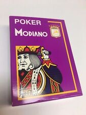 Modiano poker Purple Playing Cards