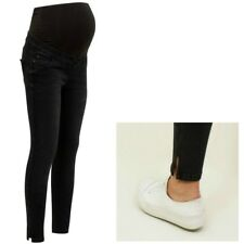 Maternity New Look Over Bump Jeans Black Sizes 8 - 16