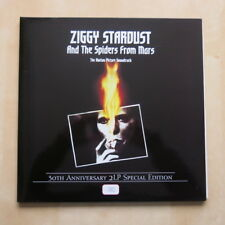 DAVID BOWIE Ziggy Stardust Motion Picture 2003 numbered double red vinyl LP post