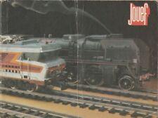 Catalogue Jouef TGV 1981 trains électriques miniatures HO