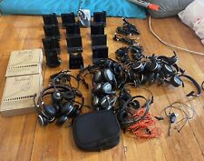 Big Lot Of Jabra Evolve Wireless Bluetooth Headsets And Plantronics Equipment