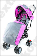 Babystar Baby Stroller Buggy Pram Pushchair Lightweight Raincover Footmuff Green