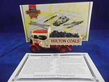 Matchbox Yesteryear YAS02 Foden Steam Wagon Hulton's Coals