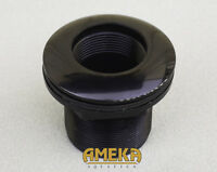 "1-1/2"" 1.5"" Bulkhead Fitting Thread x Slip, Silicon Washer, Very High Quality"