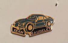 PIN'S PIN CAR AUTO VOITURE RALLYE ALPINE RENAULT BERLINETTE A110 TEAM BAUDELET