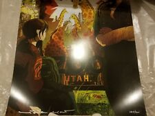 The Last of Us It Can't Be For Nothing Lithograph - LE Limited Edition & Signed!