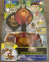 Ben 10 Micro Heatblast Playset  2-in-1 OMNITRIX NEW