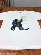 Mike Liut - Cincinnati Stingers - WHA- Custom White T-Shirt