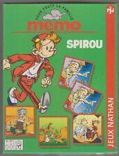 SPIROU TOME JANRY JEU MEMO de NATHAN 1994