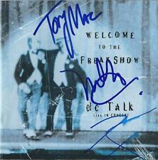 dc Talk signed autograph Jesus Freak Music Legend EXTRA RARE COA LOOK!