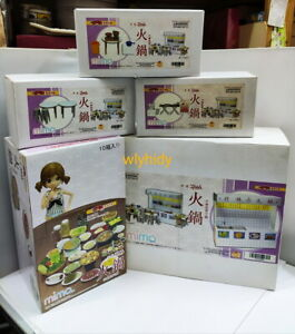 Miniatures Mimo Hong Kong Style Hot Pot Stall + Accessory