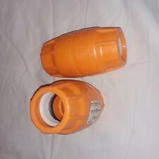 "Orange Item# 20001844 New Box of 50 Couplers Duraline 1/"" Push-Lock Coupler"