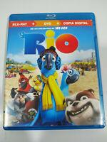 Rio Animacion - Blu-Ray + DVD Extras Español Ingles