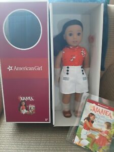 "AMERICAN GIRL DOLL NANEA 2020 NIB 18"""