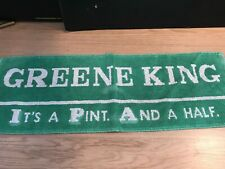 Vintage beer / bar mat Greene King