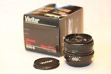 Vivitar 24mm f2.8 macro 1.5x lens fits Nikon AI mount