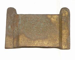 DUESENBERG J BRUNN TORPEDO PHAETON DOOR REMOTE HANDLE MOUNTING PLATE