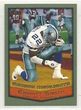 1999 Topps Football - #322 - Emmitt Smith - Dallas Cowboys