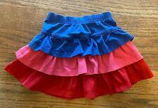 Hanna Andersson Girls 90 Layered Ruffle Skirt