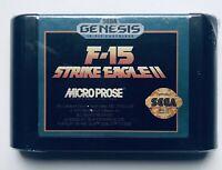 F-15 Strike Eagle II (1993, SEGA Genesis Video Game)